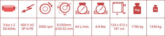 dc-550-pb-cift-kafa-kesme-makinesi-teknik-ozellikleri