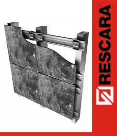 Granit Cephe Sistemleri - Rescara Granite Facade Systems - Yavuz Metal Aluminyum