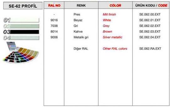 se-62-profil-renk-tablosu