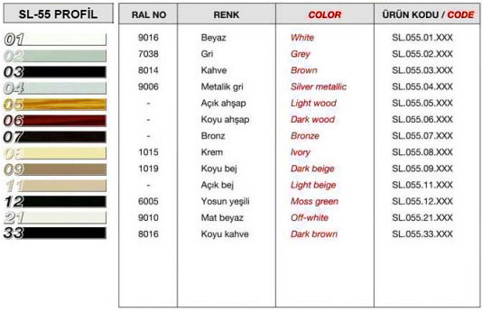 sl-55-profil-renk-tablosu