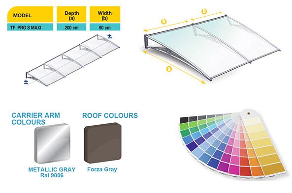 tf-pro-lux-maxi-awning-model-color-codes-yavuz-metal-aluminyum