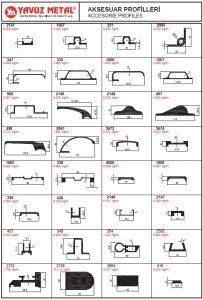 Alüminyum Aksesuar Profiller - Katalog6