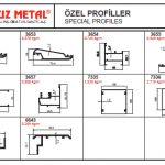 Özel Alüminyum Profiller - Katalog4