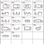 Kıbrıs Sürme Serisi Alüminyum Profiller - Katalog