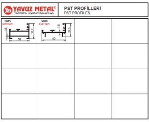 Raf ve PST Alüminyum Profilleri - Katalog2