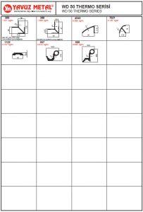 WD 50 Thermo Serisi Alüminyum Profiller - Katalog2