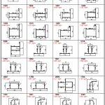 WD 55 Serisi Alüminyum Profiller - Katalog