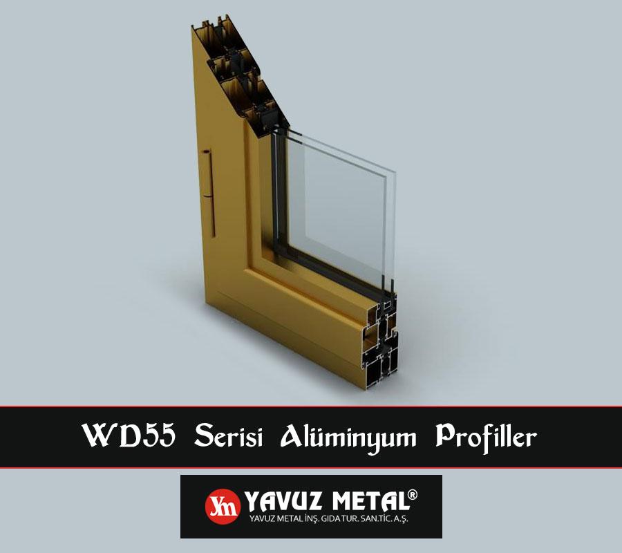 WD55 Serisi Alüminyum Profiller