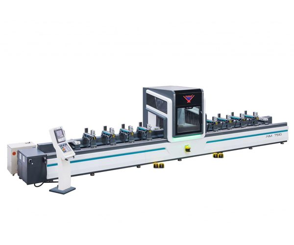 AIM 7510 - 5 Eksen Alüminyum Profil İşleme Merkezi