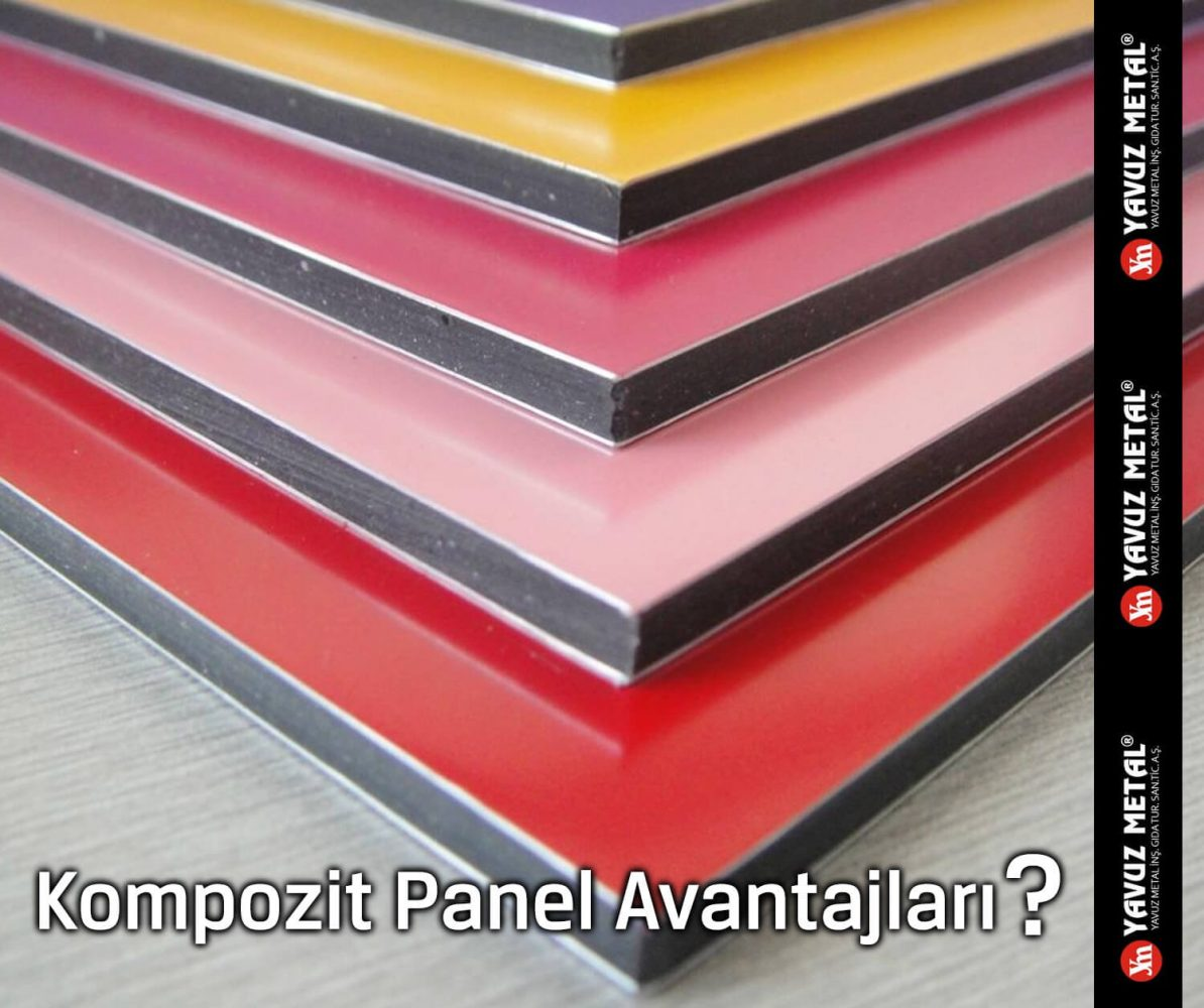 Kompozit Panel Avantajları